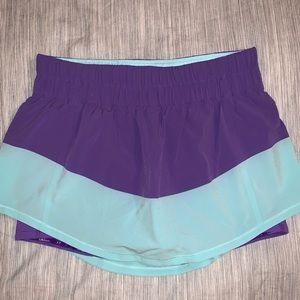 Lululemon Running Skort (short + skirt combo)